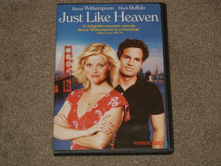 Just Like Heaven (DVD, Movie, Romance, Comedy, 2013, Widescreen, PG-13)
