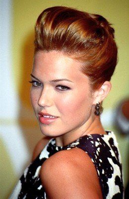 french twist hairstyle pictures | Mandy Moore French Twist Updo Hair Style