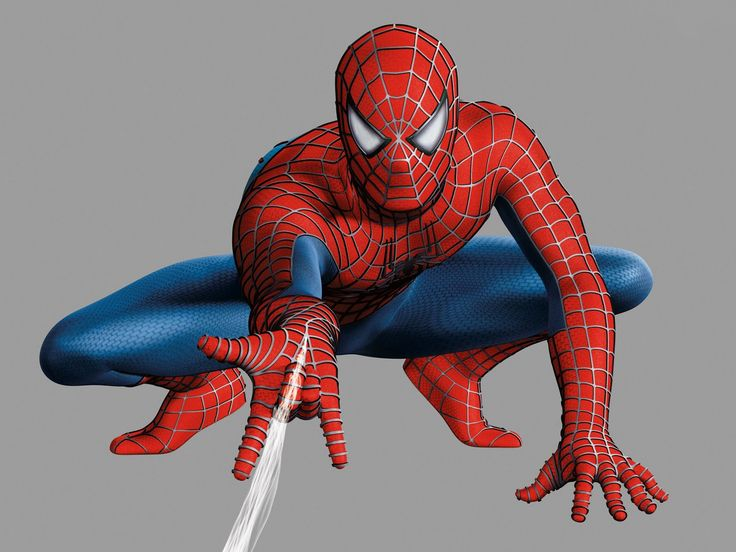 Web Shooting Spiderman Action Figure