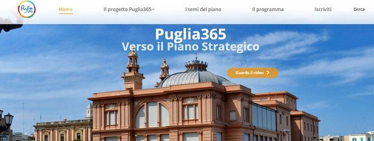 InPuglia365 : sono 107 i progetti presentati per la selezione