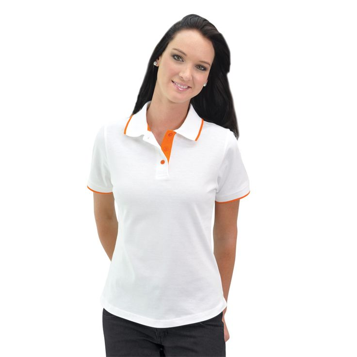 Ladies Trendy Polo BRAND: TEE & COTTON is 100% combed cotton produced from the best quality yarns for coolness and strength and has side slits for comfort and ease of movement