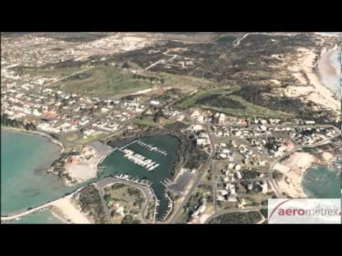 AEROmetrex Countrywide Aerial Imagery Program - Robe 3D Fly-through - YouTube