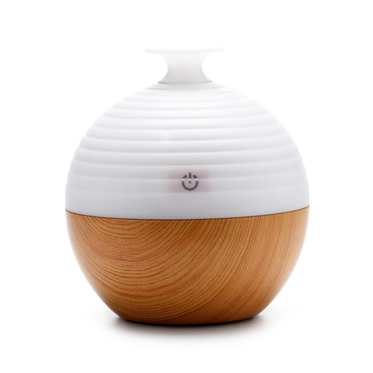 Portable Humidifier Aromatherapy Ultrasonic Humidifier Wooden Essential Oil Diffuser USB 130ML Aroma Diffuser For Home Office