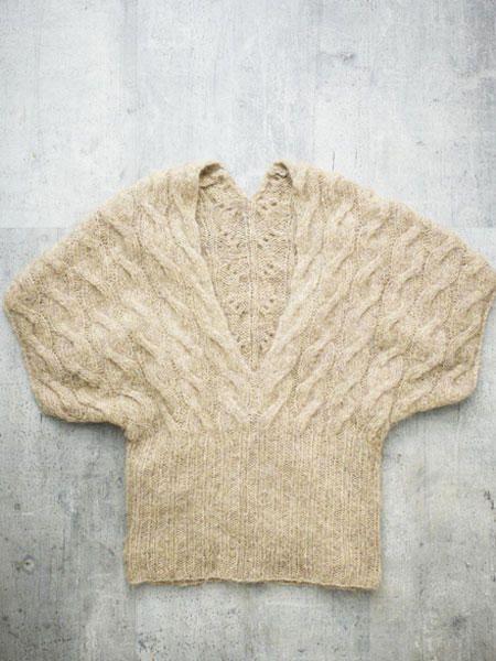 Kimono-Pullover stricken - mit Anleitung