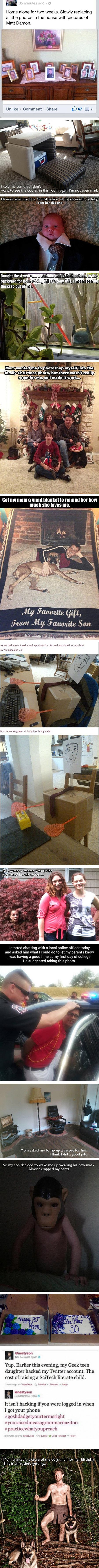 14 Funny Examples of Geeky Kids Thinking Outside the Box - TechEBlog