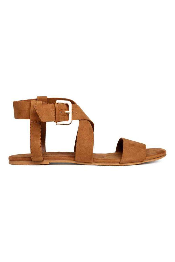 Sandały - Camel - ONA | H&M PL 1
