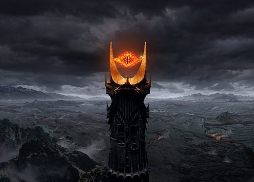 Barad-dûr, also known as the Dark Tower, was the Dark Lord Sauron's primary stronghold in Mordor, serving as his base of operations in Middle-earth during the Second and Third Ages. Barad-dûr was held together by dark magic and was the greatest fortress in Middle-earth of its time. It was originally built in the Second Age and leveled after Sauron's defeat in the War of the Last Alliance. Sauron had Barad-dûr rebuilt during the Third Age as he regained his power, but the tower was for...