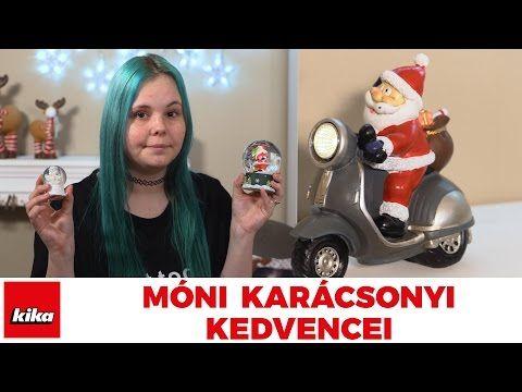 Móni kedvenc karácsonyi ajándékötletei - Móni szépségvilága | Kika Magyarország - YouTube