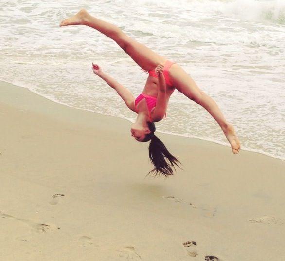 naked moms doing gymnastics