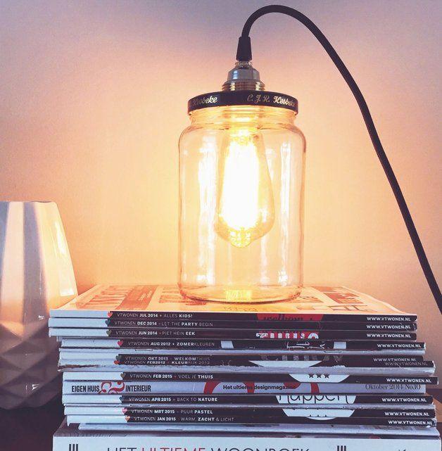 Hanglampen - Industrieel design Kesbeke lamp byCoco - Een uniek product van CocoStudio op DaWanda