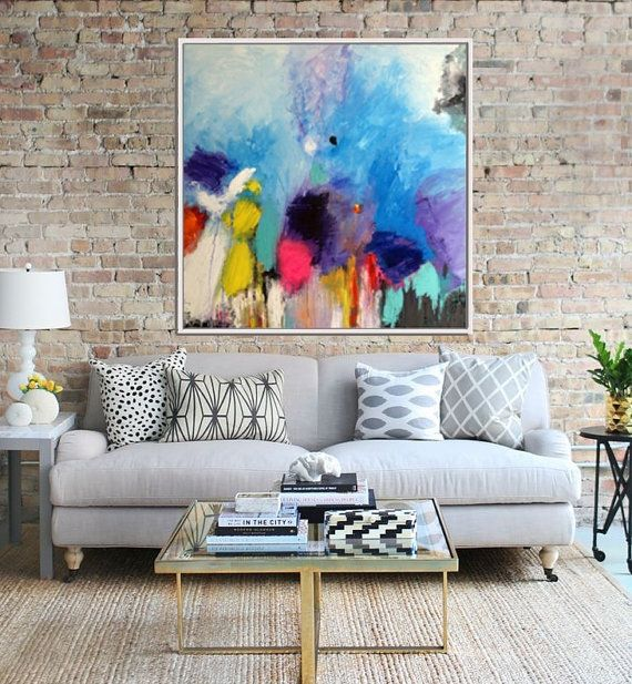 Abstract Painting Giclee Print Abstract Art print by Artzaro