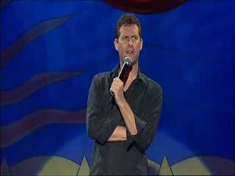 Adam Hills - Comedian Talking About His Leg