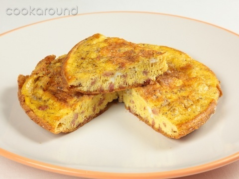 Frittata con salsiccia: Ricetta Tipica Lazio | Cookaround: Dined Well, Frittate Omelette, Italian, Food, With Sausage, Omelet With, Second Courses, Cook Ricette