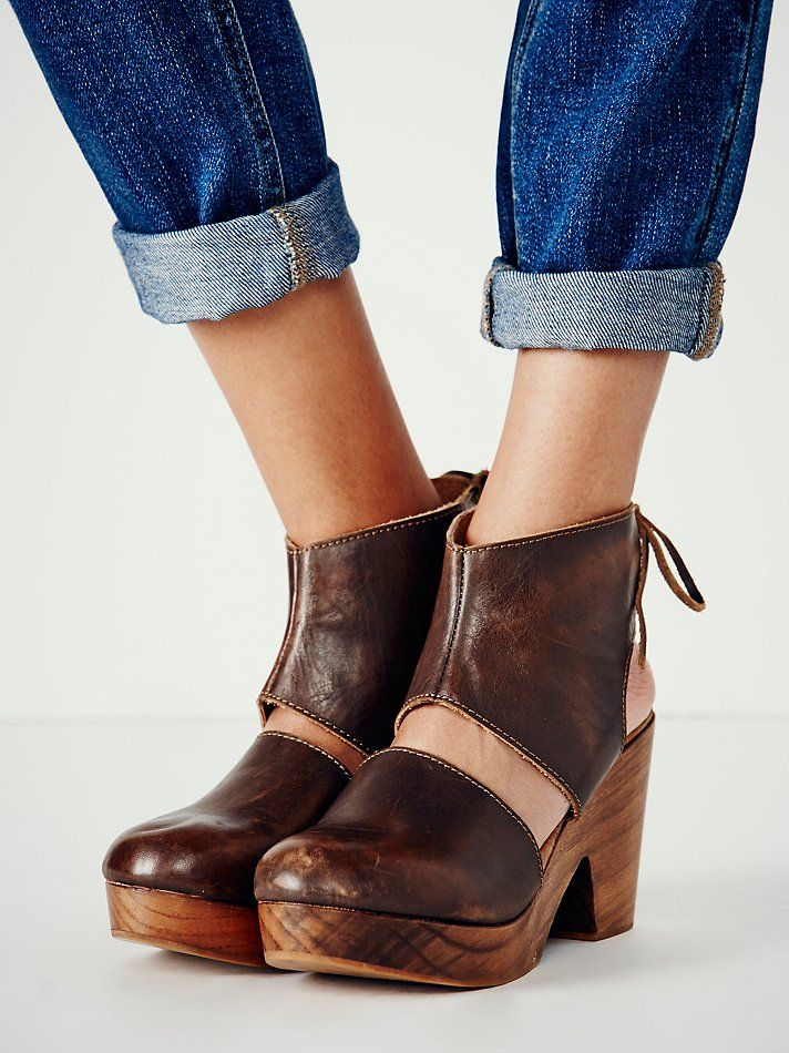 Desert Gold Clog at Free People Clothing Boutique