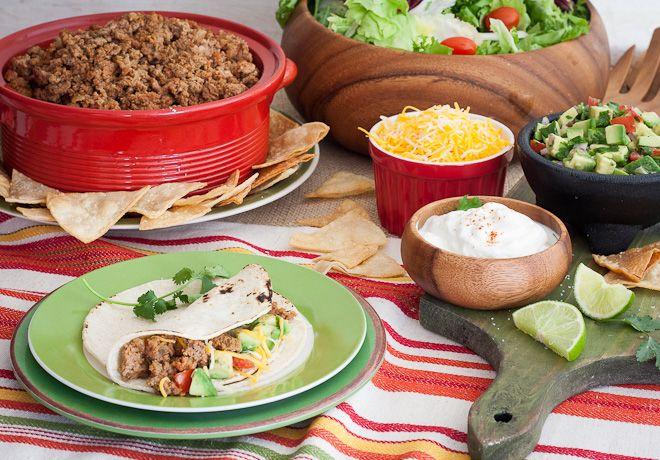 Gluten-Free Taco Salad Bar - Evite