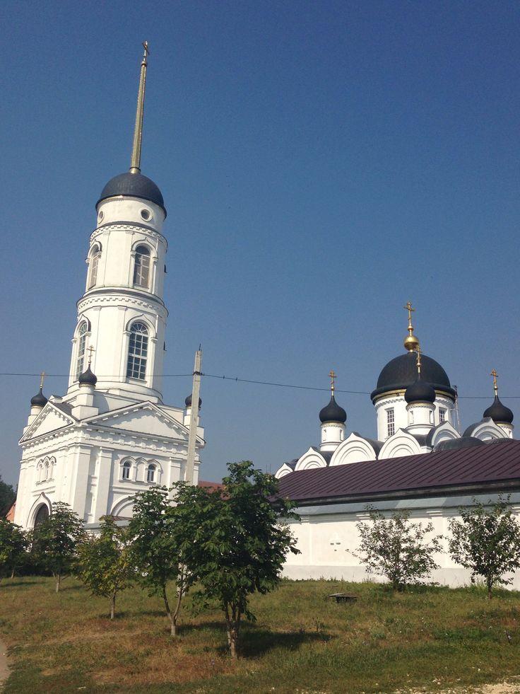 Задонск...Женский монастырь...