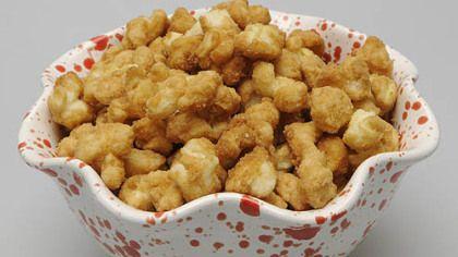 Amazingly Good Caramel Corn made with hulless popcorn