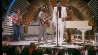 "The Guess Who on Burt Sugarman's Midnight Special with ""American Woman""...and Burton Cummings in a very white suit"