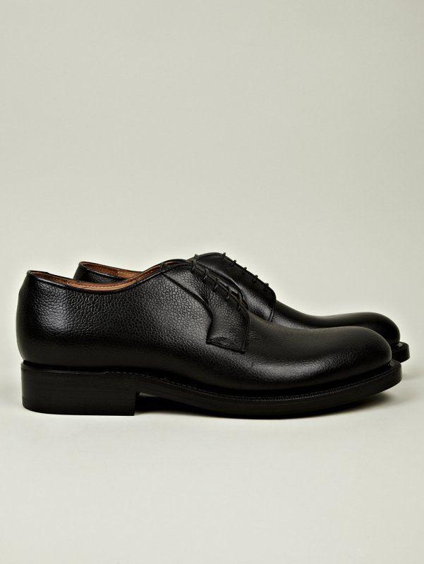 Raf Simons Men's Classic Derby Shoe in black at oki-ni