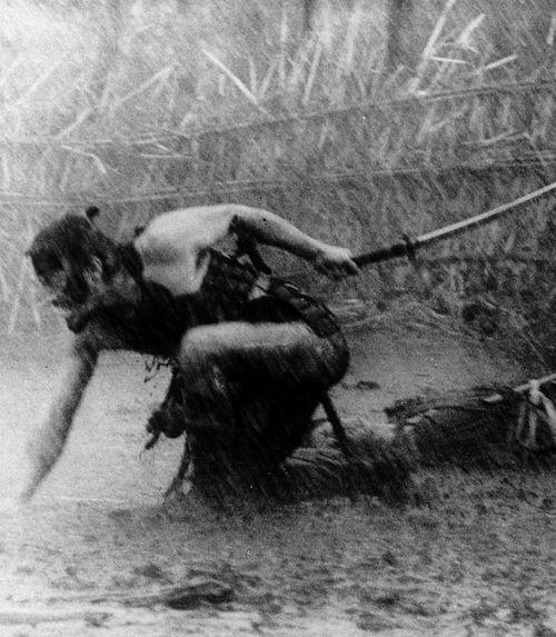 A still from Kurosawa's 'Seven Samurai'