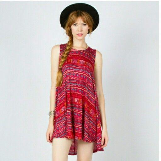 Aztec Print Dress Find it on my Poshmark: @freefalling224 https://poshmark.com/closet/freefalling224