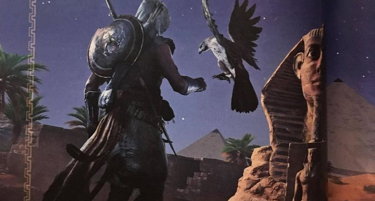 Assassin's Creed Origins details and release date leaked: Scans of an interview with creative director Jean Guesdon from an upcoming issue…