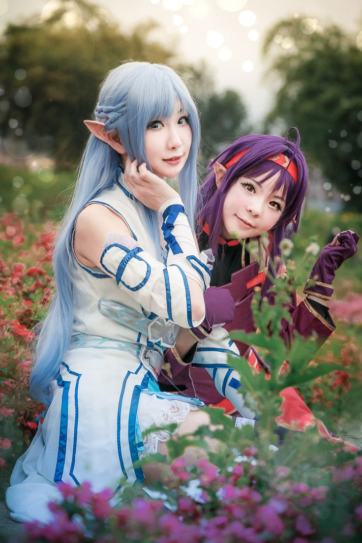 Asuna Yuuki & Konno Yuuki
