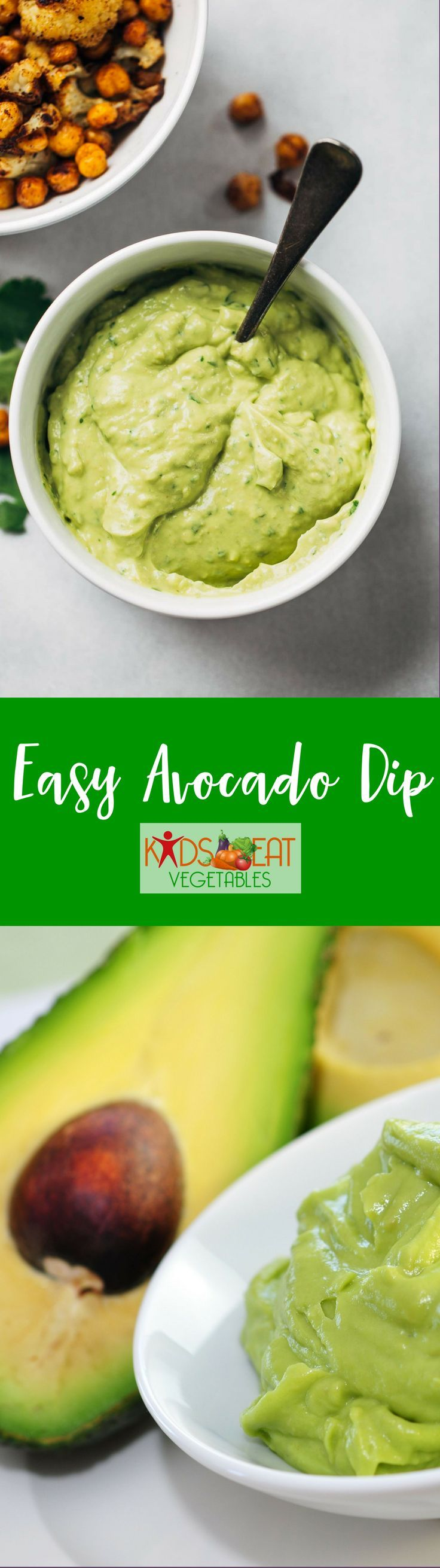 This Easy Avocado Dip is perfect for just about anything. Serve it with chips, tacos, burgers, grilled meats, veggies, or burrito bowls.