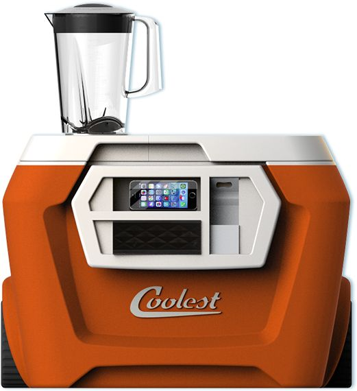The 'Coolest' cooler - 60 quarts of style with a built in blender, music and way, way more