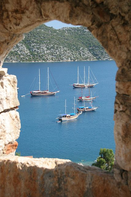"Great ""window"" shot! Kas, Turkey"