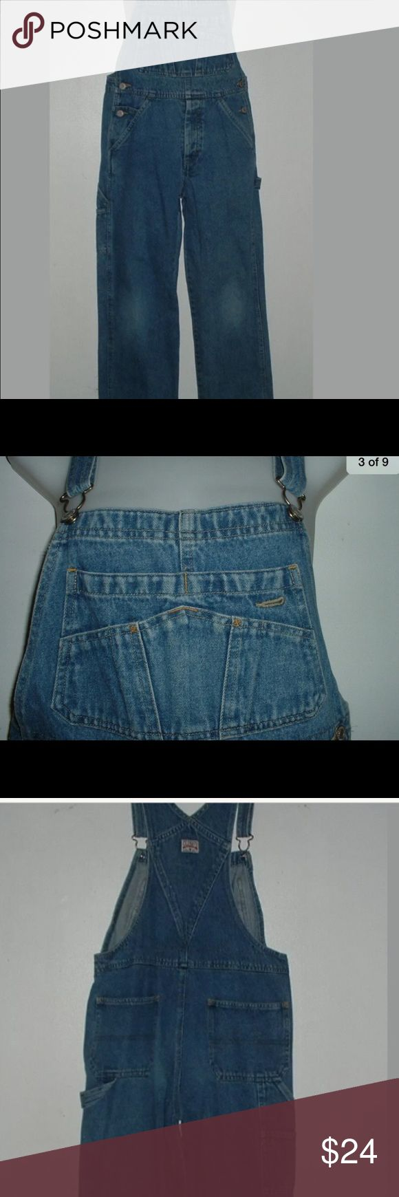 Old Navy Youth Denim Bib Carpenter Overalls. Youth/petite adult size 10. Been hidden in the closet. Never been worn. Washed and ready to wear. Old Navy Other