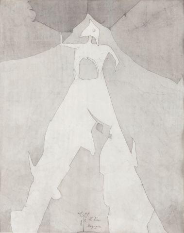 Novák Ladislav (1925–1999) | Tragický hrdina, 1983 | Aukce obrazů, starožitností | Aukční dům Sýpka