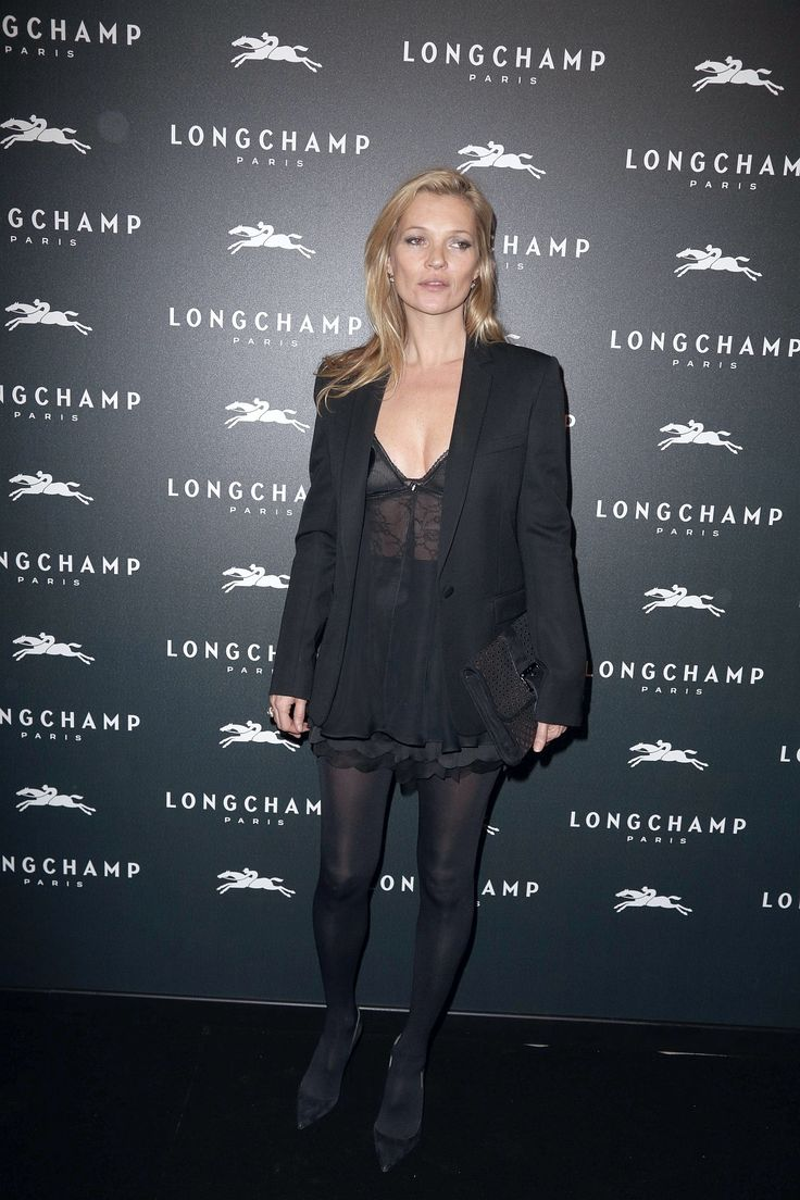 Kate Moss in pantyhose