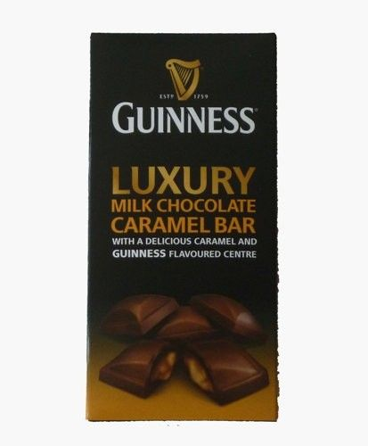 Guinness Luxury Milk Chocolate Caramel Bar (90g)