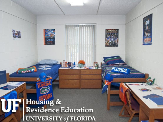 University of florida freshman dorms for Best housing at uf