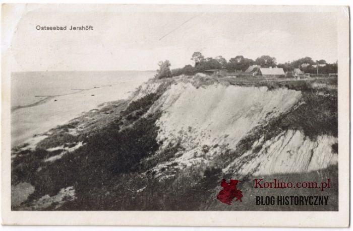 Pocztówka z Jarosławca wysłana 28 lipca 1934 roku. Wydawnictwo: Verlag Albert Mewes, Rugenwalde. 607