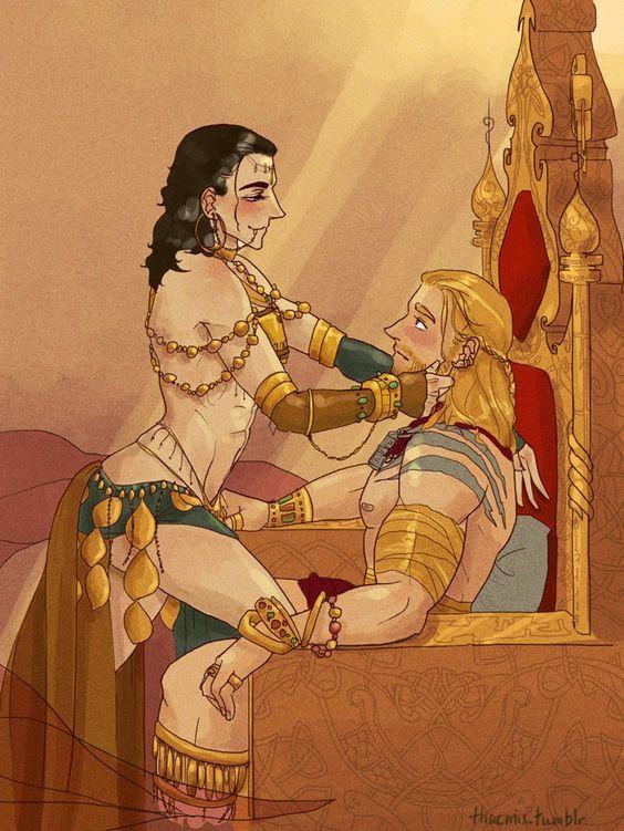 Thorki Thor x Loki: