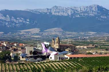 Vinos Herederos del Marques de Riscal is located in Elciego, in the Rioja region of Spain