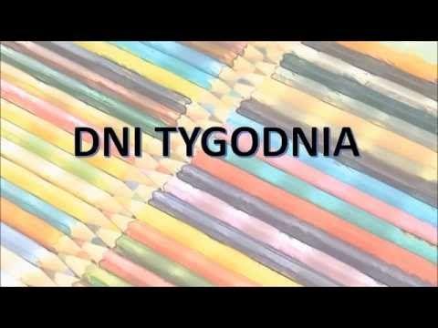 Pokoloruj Świat. Nauka Angielskiego dla dzieci - Dni tygodnia - YouTube