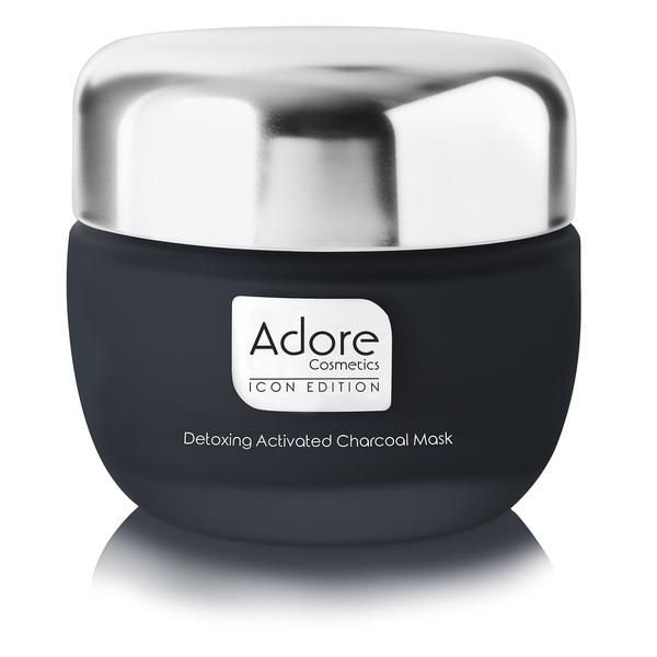 Icon Edition Detoxing Activated Charcoal Mask From Adore Cosmetics Activated Charcoal Mask Charcoal Mask Activated Charcoal