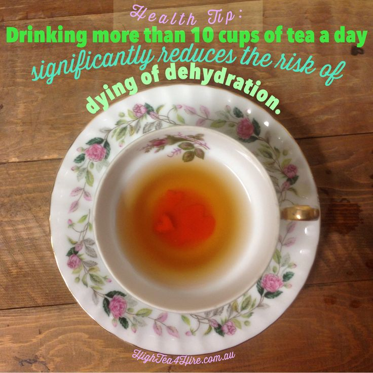 Another reason to drink more tea.  HighTea4Hire.com.au for high tea rentals.