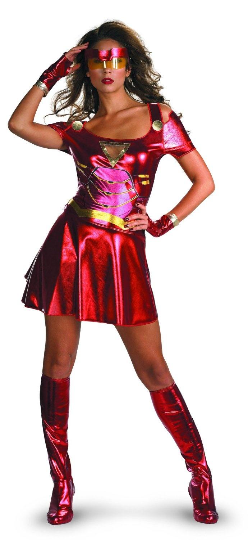 Amazon.co.jp: Iron Man 2 (2010) Movie - Ironette Sexy Adult Costume アイアンマン2(2010)映画 - Ironetteセクシーな大人用コスチューム♪ハロウィン♪サイズ:Small (4-6)