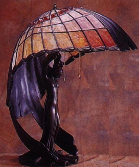 Art Nouveau Tiffany Lamp  http://klingpost.com/colorful-tiffany-lamps-designs/
