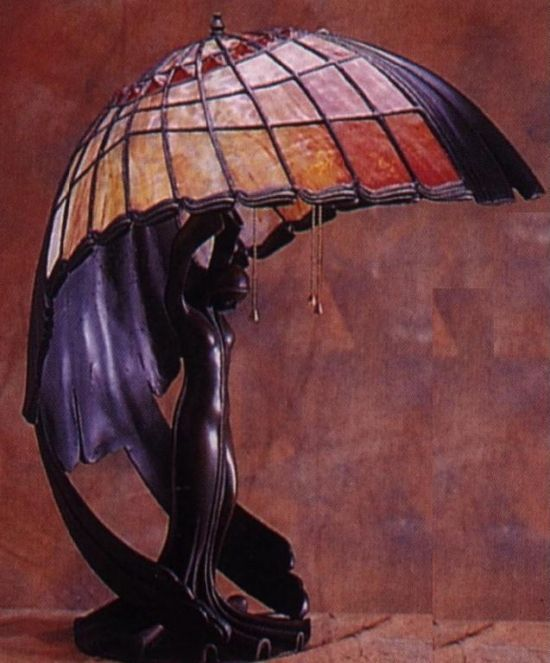 Art Nouveau Tiffany Lamp