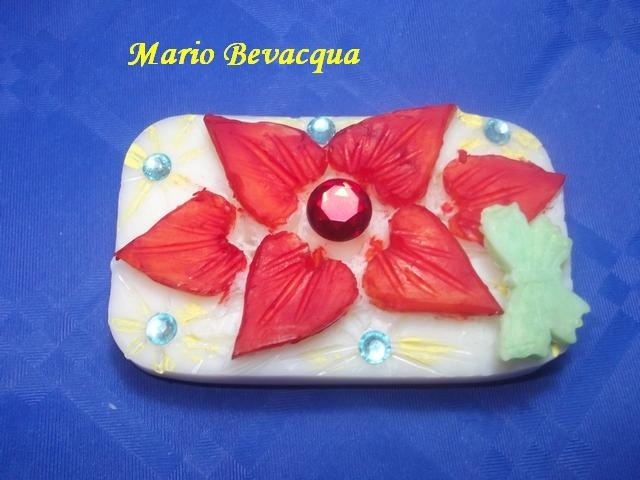 Valentine soap carving by Mario