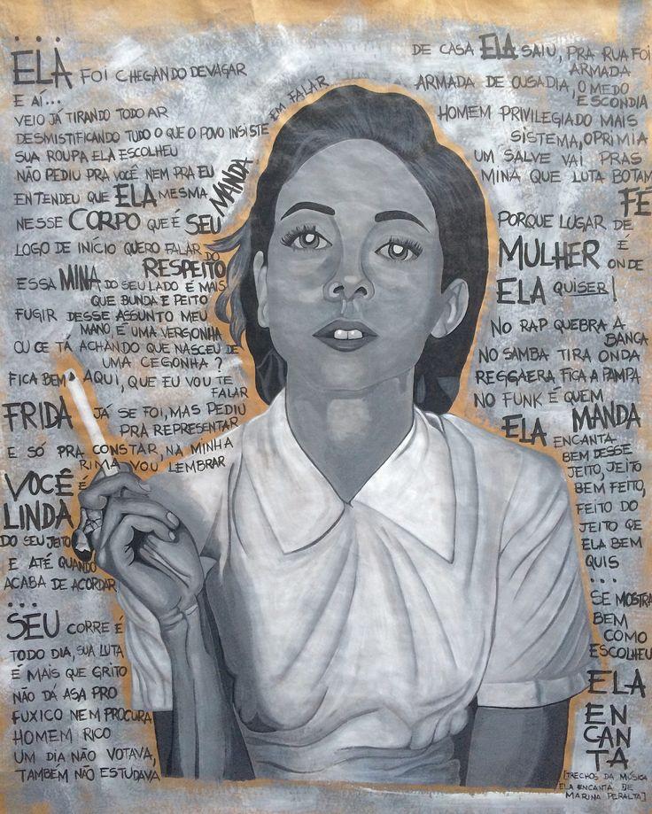 """Confira meu projeto do @Behance: """"Mulher forte"""" https://www.behance.net/gallery/41491303/Mulher-forte"""