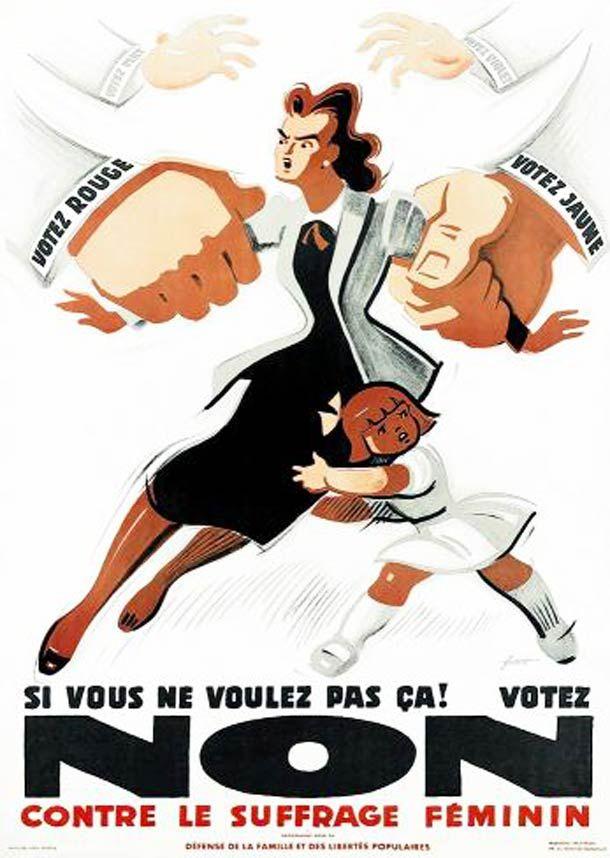 WTF du jour – La Propagande anti Suffrage Féminin (1900)   Ufunk.net
