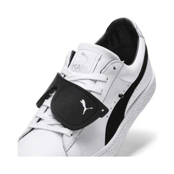 b895ccecd0 Image 6 of PUMA x KARL LAGERFELD Suede Classic Sneakers, Puma White ...