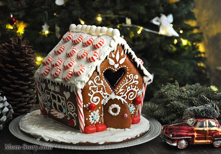 Пряничный домик рецепт с пошаговыми фото