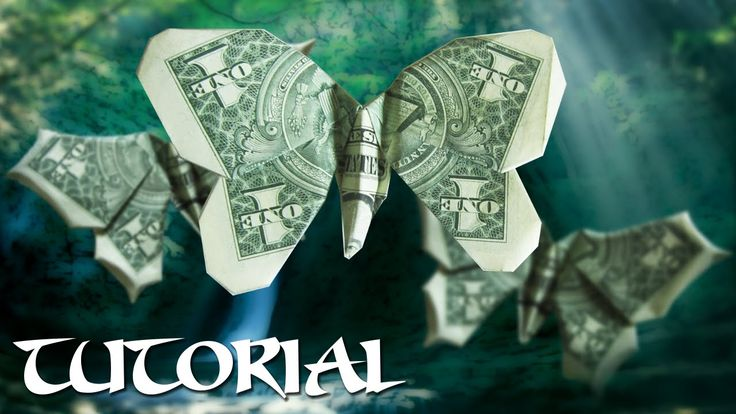 Origami $1 Butterfly Tutorial